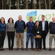 Australian Ambassador visits Oilean Glas Teo